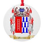 Moyano Round Ornament