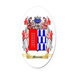 Moyano Oval Car Magnet