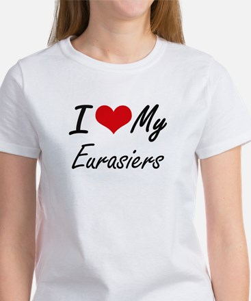 I Love my Eurasiers T-Shirt