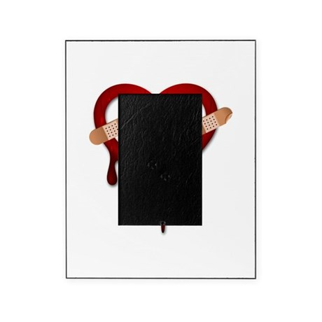 broken heart anti valentines Picture Frame by Admin_CP13506533