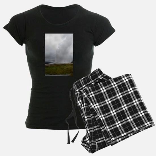 Old Faithful Yellowstone Nat Pajamas