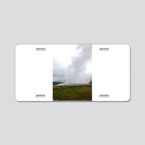 Old Faithful Yellowstone Na Aluminum License Plate