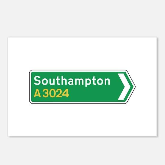 Southampton Roadmarker, UK Postcards (Package of 8