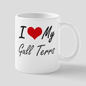 I Love my Gull Terrs Mugs