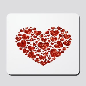 valentines day heart Mousepad