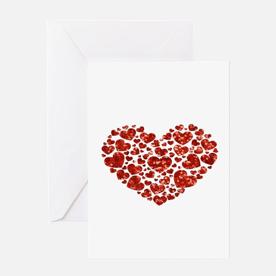 valentines day heart Greeting Cards