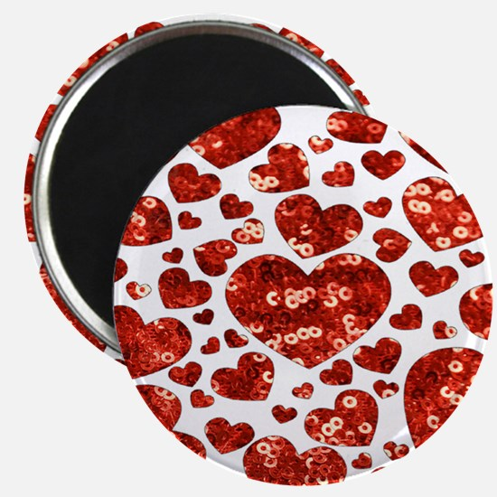 valentines day heart Magnets