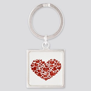valentines day heart Keychains