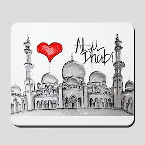 I love Abu Dhabi Mousepad