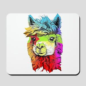 Color Me Alpaca Mousepad