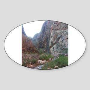 South Rim Grand Canyon Phantom Ranch Creek Sticker