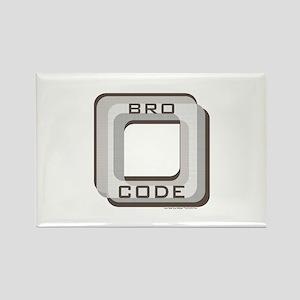 Bro Code Magnets