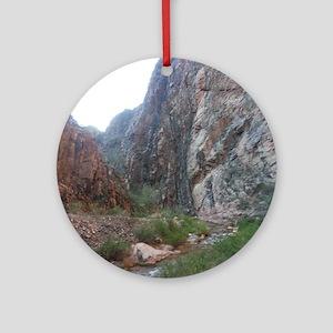 South Rim Grand Canyon Phantom Ranc Round Ornament