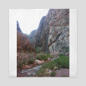 South Rim Grand Canyon Phantom Ranch C Queen Duvet