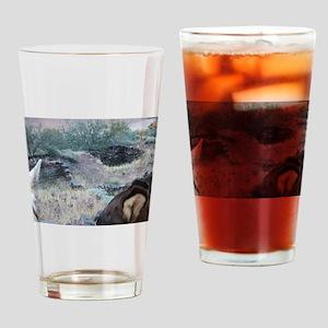 Bright Angel Mule Ride To Phantom R Drinking Glass