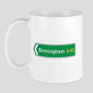 Birmingham Roadmarker, UK Mug