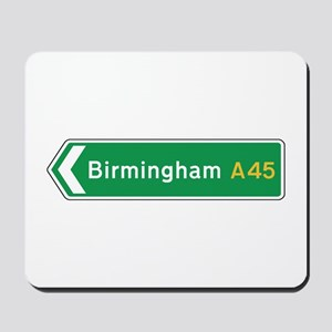 Birmingham Roadmarker, UK Mousepad