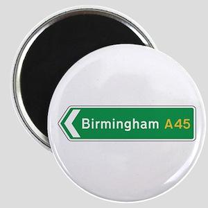 Birmingham Roadmarker, UK Magnet