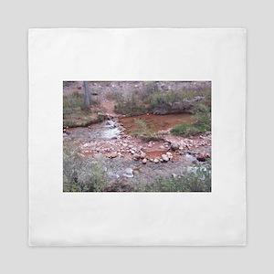 South Rim Grand Canyon Phantom Ranch Queen Duvet