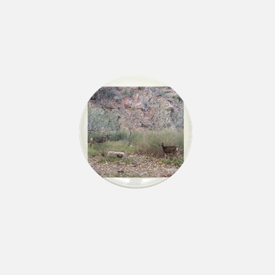 Phantom Ranch Deer Mini Button
