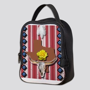 Yellow Rose of Texas Neoprene Lunch Bag