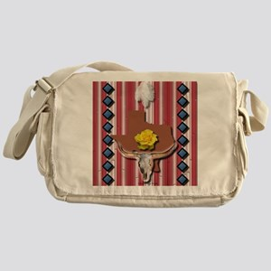 Yellow Rose of Texas Messenger Bag