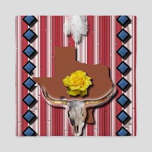 Yellow Rose of Texas Queen Duvet