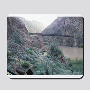 Bright Angel Mule Ride To Phantom Ranch Mousepad