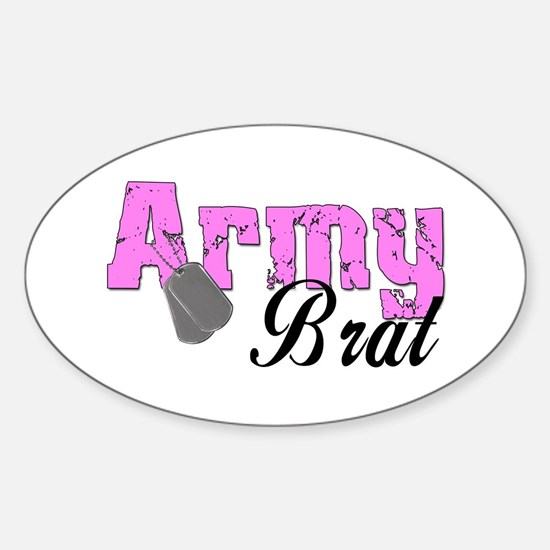 Army Brat Oval Decal