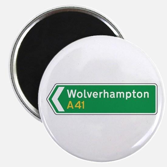 Wolverhampton Roadmarker, UK Magnet