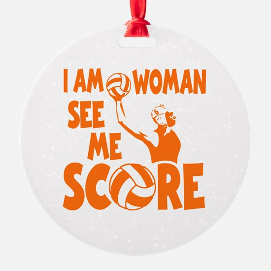 I AM WOMAN Ornament