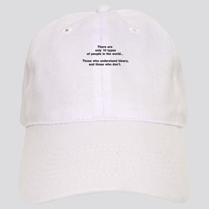 10 Types of People - Binary Baseball Cap