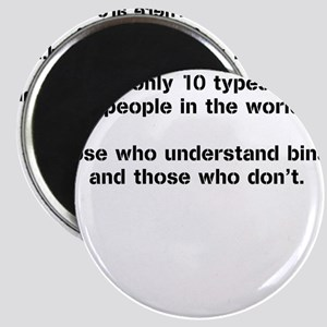 10 Types of People - Binary Magnets