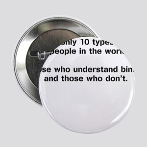 """10 Types of People - Binary 2.25"""" Button"""