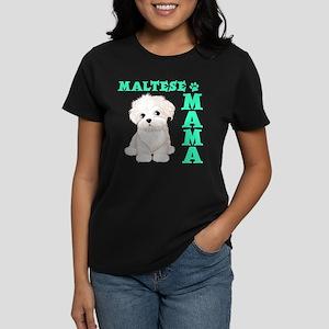 MALTESE MAMA Women's Dark T-Shirt