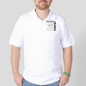 MALTESE MAMA Golf Shirt