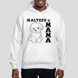 MALTESE MAMA Hooded Sweatshirt