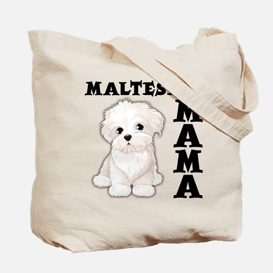 MALTESE MAMA (both sides) Tote Bag