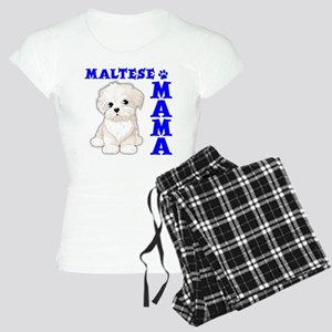 MALTESE MAMA Women's Light Pajamas