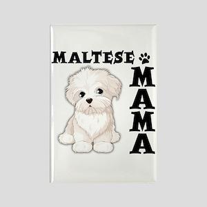 MALTESE MAMA Rectangle Magnet