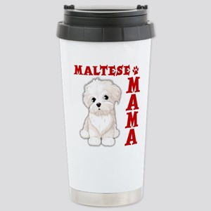 MALTESE MAMA Stainless Steel Travel Mug