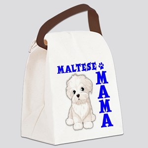 MALTESE MAMA Canvas Lunch Bag