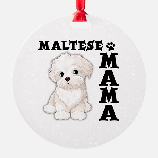 Maltese Ornaments Christmas