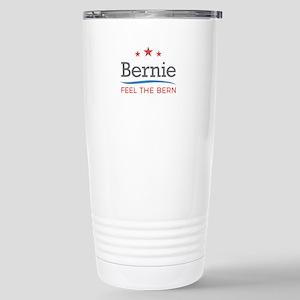 Bernie Feel The Bern Stainless Steel Travel Mug