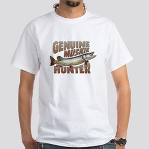 Muskie Hunter White T-Shirt