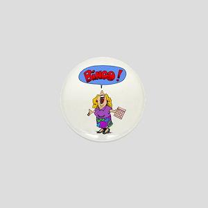 Bingo Mama Mini Button
