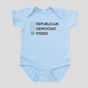 Republican Democrat Pissed Body Suit