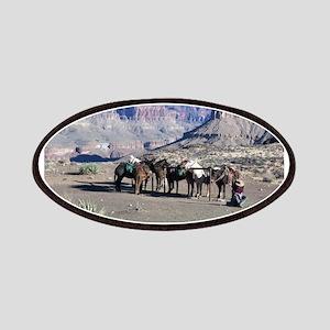 South Kiabab Mule Ride To Phantom Ranch Patch