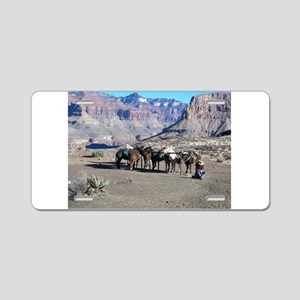 South Kiabab Mule Ride To P Aluminum License Plate