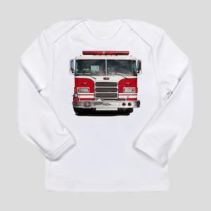 PIERCE FIRE TRUCK Long Sleeve T-Shirt
